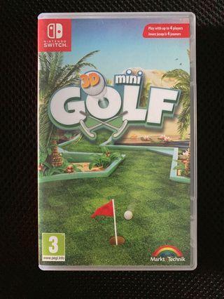 Nintendo switch 3D Mini Golf