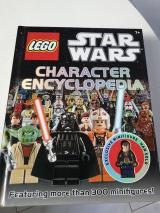 🚚 Lego Starwars Encyclopedia with Exclusive Han Solo Minifig