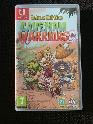 Nintendo switch Deluxe edition Caveman warriors