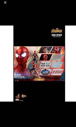 Confirmed Po slot hot toys Iron man spider man