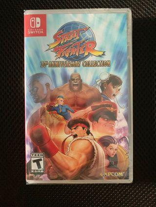 Nintendo switch Street fighter 30th anniversary collection