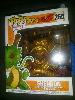 Funko Pop Dragonball Z dbz #265 Golden Shenron 2018 special edition figure 龍珠 金色神龍