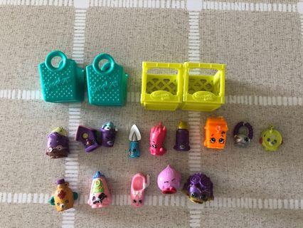 🚚 Shopkins figurines