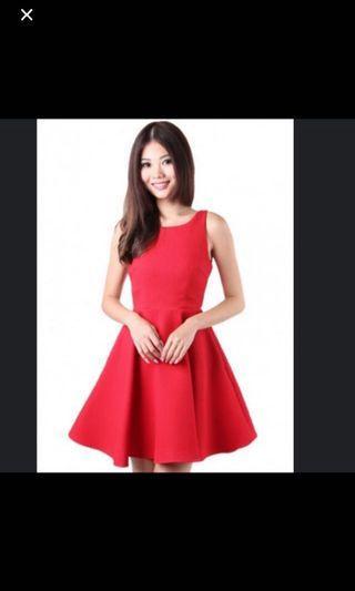 MGP Preppy Flare Dress