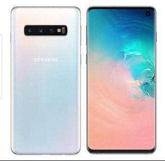 Samsung s10+ / s10 plus *brand new* *Prism white*