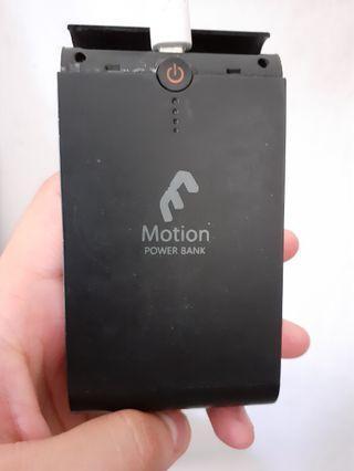 Motion power bank 5000mah