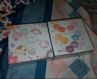 [ 全新未拆盒 ]  Sanrio 花雨·花語   花形陶瓷碗