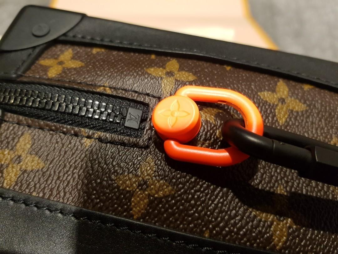 100% Authentic Louis Vuitton Virgil LV Abloh Soft Trunk Sling bag Bumbag comes with local receipt