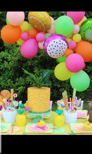TUTTI FRUITTY BIRTHDAY PARTY