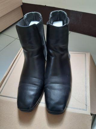 D+AF復古短靴