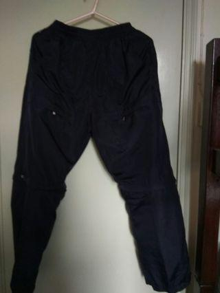 [defect] black sports pants