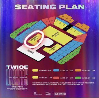 🚚 PEN B ORIGINAL PRICE! TWICE 'TWICELIGHTS' IN SINGAPORE 2019