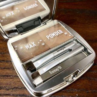 Benefit Wax and Powder Brow Zings