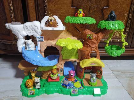 Fisher price zoo playset