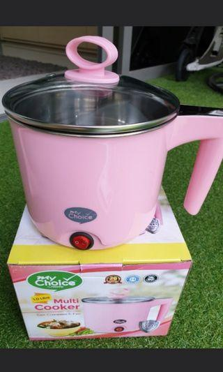 Multiple Purpose Pink Cooker