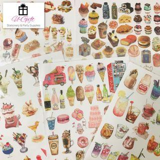 [STI] Kawaii Food Series Stickers