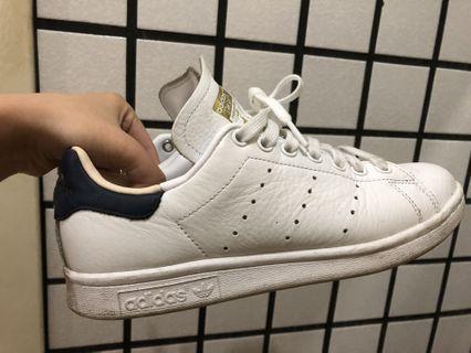Adidas Stan smith 金標 藍尾