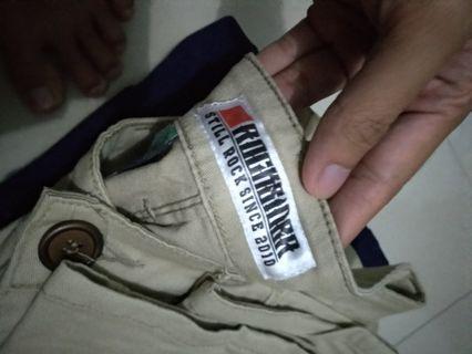 Jual celana Chino rocksider ukuran 30, ORI murah u