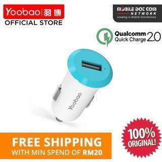 YOOBAO YB-205QC Qualcomm QUICK CHARGE 2.0 USB CAR CHARGER