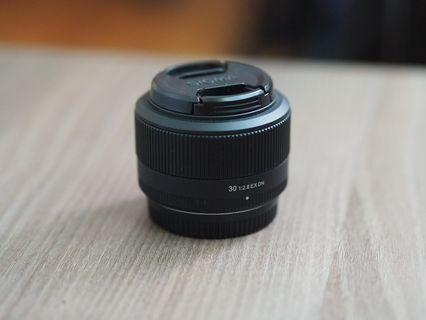 Sigma 30mm F2.8 EX DN for m43