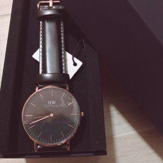 danie wellington watch Classic Black Sheffield