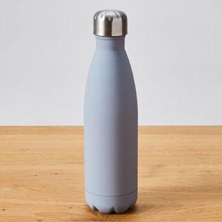 Double Walled 500ml Drink Bottle - Matte Grey