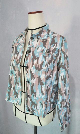 Blue Army Jacket