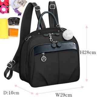 日本kanana女士日系背包 backpack