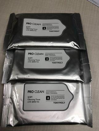 🆕Pro clean soft cleansing tissue