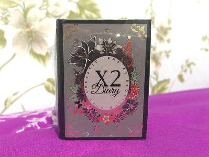 Softlens X2 Diary Creamy Gray