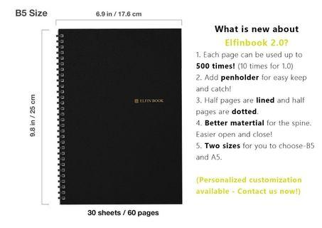 elfinbook 2.0 智能筆記簿