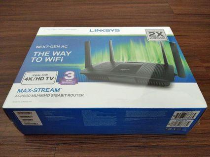 🚚 Linksys Wireless Router EA-8100-AH AC2600