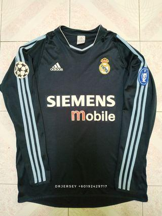 Real Madrid Jersey away 2003/04