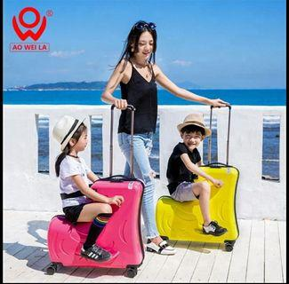High Quality Rideable Travel Luggage for kids