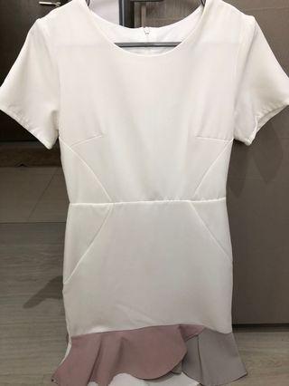 Topazette white dress