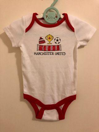 Manchester United Man U 曼聯bb 波衫 嬰兒夾乸衣