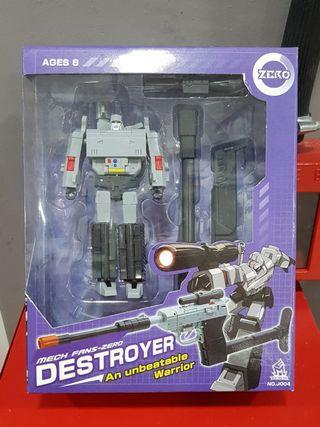 Transformers Inspired Mech Fans-Zero Destroyer MISB