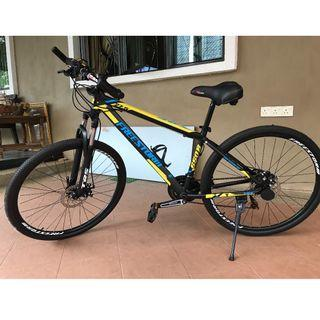 Mountain bike- Brand TRS (Freestorm)- ALMOST NEW