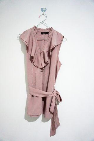Pink pastel blouse boutique