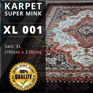 KARPET SUPER MINK (230CM X 195CM X 2.5CM) XL - SIRI 24
