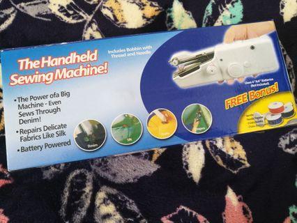 Handy Stitch : Portable handheld sewing machine #CarouRaya