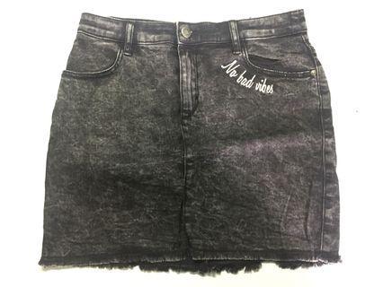 Korean Style Denim Skirt