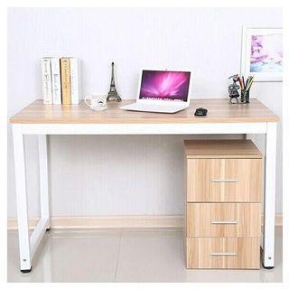 PROMO meja + laci / meja kerja / meja kantor