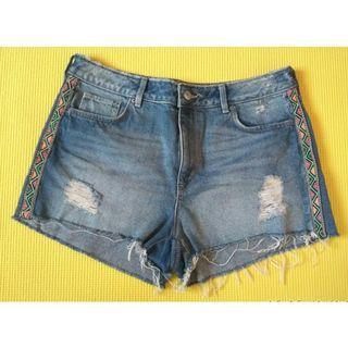 Hotpants Jeans Biru