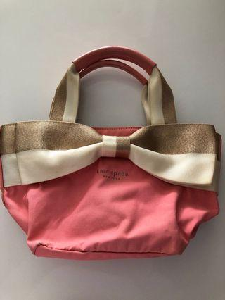 Preloved authentic Kate space bow bag