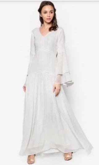 Zalia Layered Bell Sleeved Dress