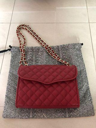 Rebecca Minkoff Mini Quilted Affair (Red)