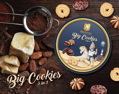 3in1 Big Cookies