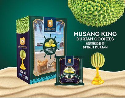 Musang King Durian Cookies