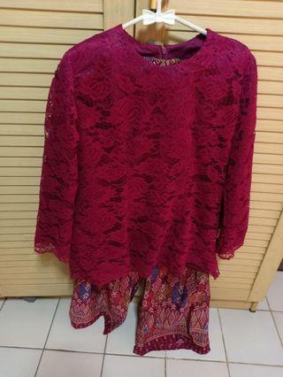 Kebaya Brokat Kullot Batik